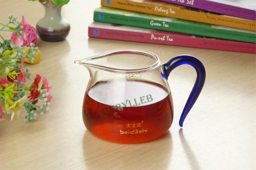 BDS High Grade Clear Glass Tea Pitcher Cha Hai w/t 300ml 10fl. oz * Free Shipping