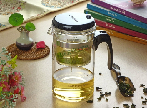 Kamjove TP-160 High Quality Gongfu Glass Teapot w/t Infuser 500ml 16.8fl. oz * Free Shipping