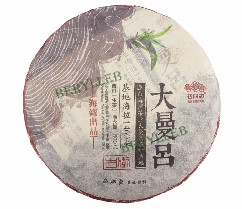 Da Man Lv * 2015 Yunnan Haiwan High Grade Raw Pu'er Tea * Free Shipping