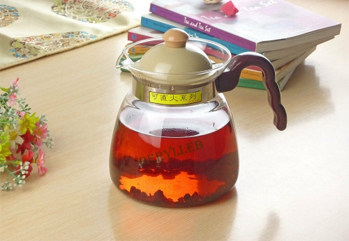 High Grade Clear Glass Kettle for Gas Stove 860ml 28.9fl. oz * Free Shipping
