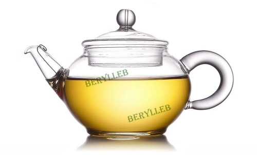 YWY High Grade Clear Glass Teapot FH-204 w/t Filter 200ml 6.76 fl.oz * Free Shipping