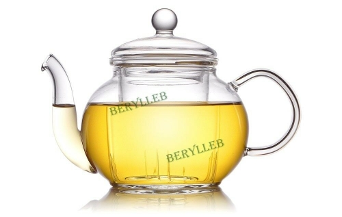YWY High Grade Clear Glass Teapot w/t Infuser 400ml13.4fl. oz * Free Shipping