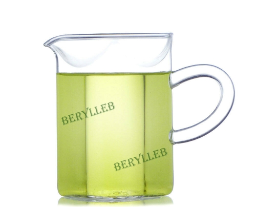 Square Clear Glass Cha Hai Tea Pitcher 200ml 6.7fl. oz   Free Shipping