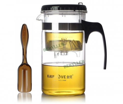 Kamjove TP-200 High Quality Gongfu Glass Teapot w/t Infuser 1000ml 33.6fl. oz * Free Shipping
