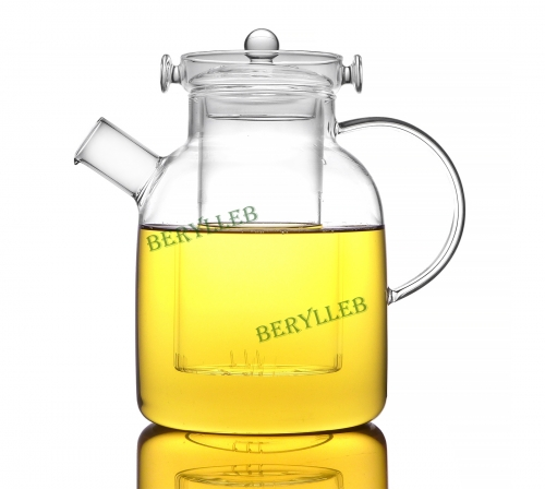 High Quality Clear Glass Kettle for Induction Cooker 2000ml 67.2 fl. oz * Free Shipping